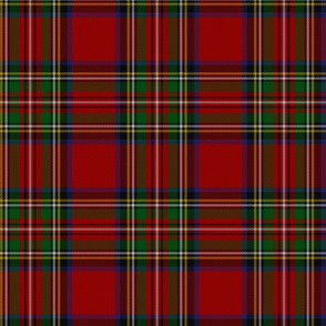 Royal Stewart Tartan Clan Plaid