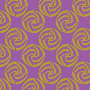 small swirleys - purple madness