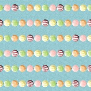 Gingerbread Candy Garland -Horizontal