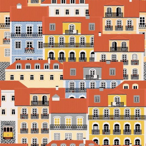Lisbon Houses pattern