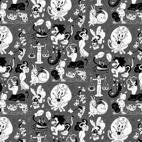 Zodiac Toons - pattern