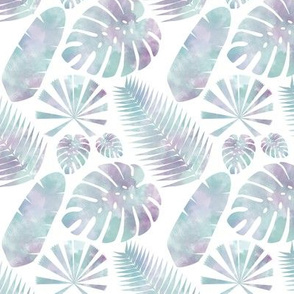Tropical Pastel Multi Leaf