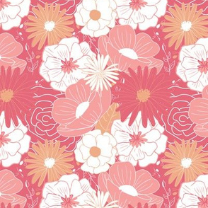 Summer Florals - Pinks and Corals