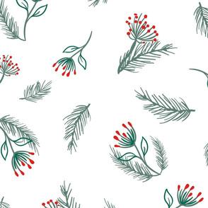 Mistletoe Winter Wonder- Large Scale