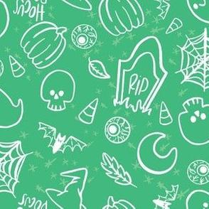 Spooky Cute Halloween (Green)