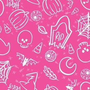Spooky Cute Halloween (pink)