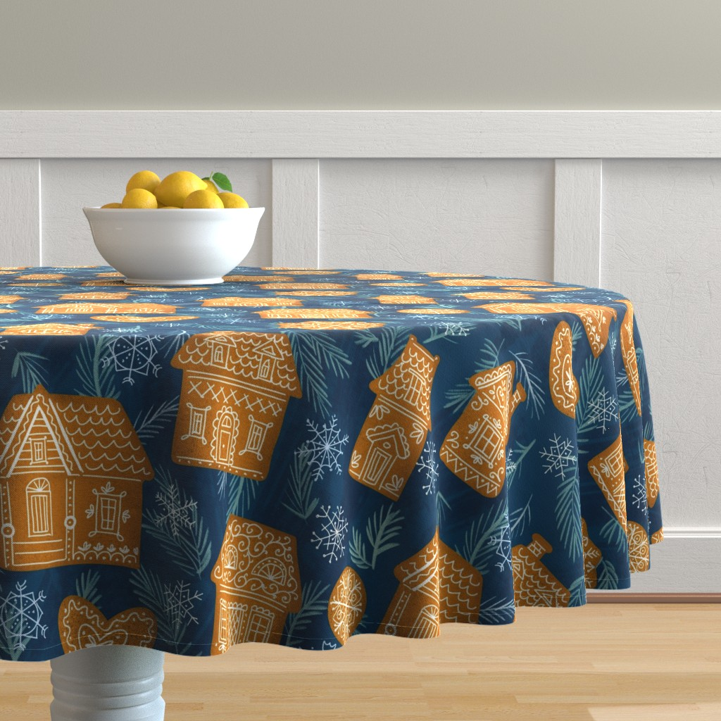 Malay Round Tablecloth featuring Waiting for a fairy tale by sandra_bereg