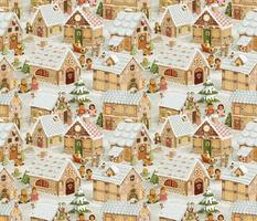 Gingerbread Village (vintage)50