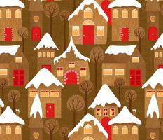 Shhhh, the Quiet Gingerbread Village