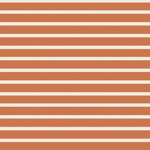 Coral cream stripes 2x2.483