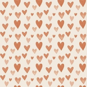 CORAL HEARTS-2x2