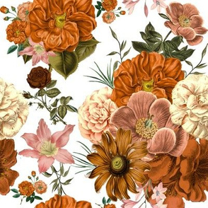 Gorgeous Vintage Fall Blooms Smaller