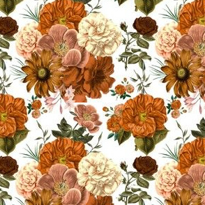 Vintage Bunch of Flowers Smaller
