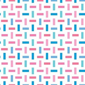 Hatch Confetti in Pink Blue