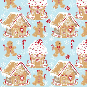 Gingerbread Houses 01