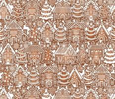 Holiday Gingerbread Neighborhood