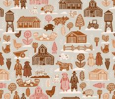 Gingerbread Farm