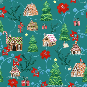 gingerbread house-edlund