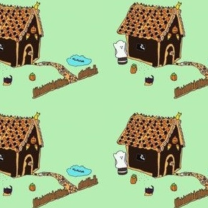 Haunted Gingerbread House low-res