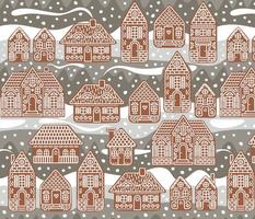 gingerbread village large