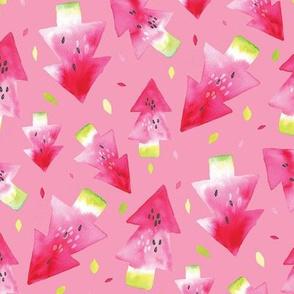 Watermelon Xmas  pink