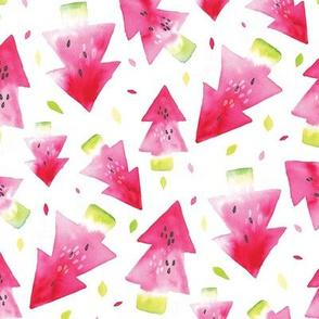 Watermelon Xmas white