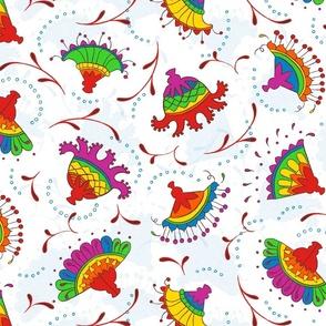 Rainbow Chintz