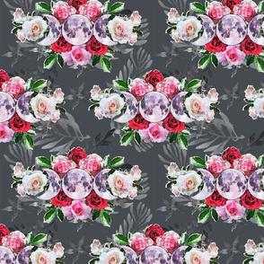 Triple Goddess Flower Chintz