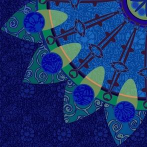 Dark Carousel Mandala