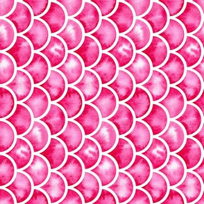 watercolor scales - pink (vertical)