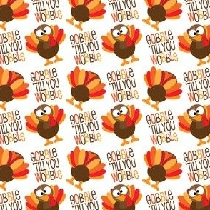Gobble Til You Wobble Funny Thanksgiving