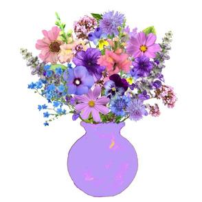 Lilac Vase Still Life