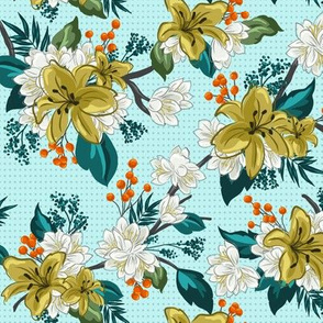 Dotted Summer Chintz