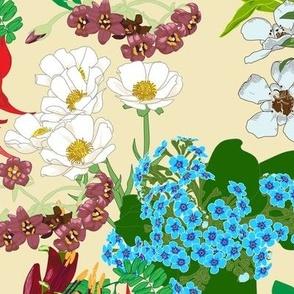 NZ Native Flowers Cream