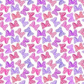 Polka Dot Bows Pretty Pinks Small