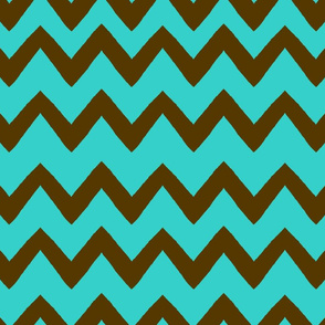 Zig-Zag Tuesday Taco Toss Surprise/Blue-Brown