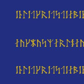 Swedish Futhark Runes