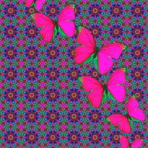 70s butterflies
