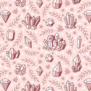 Crystal Chintz Dusty Pink