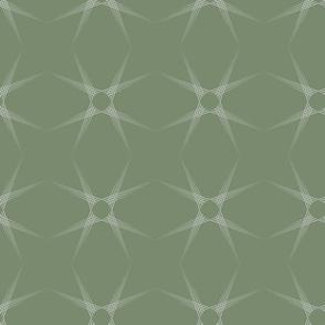 Kaleidoscope Green Spiral