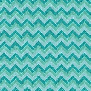 Geometric Pattern: Herringbone: Moss