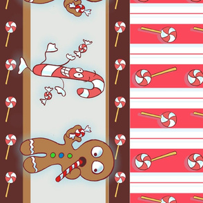GingerBread Peppermint Stripe