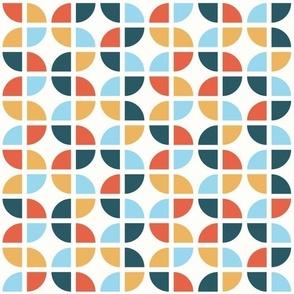 Geometric Pattern: Quarter Circle: Nala