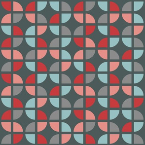 Geometric Pattern: Quarter Circle: Sigil