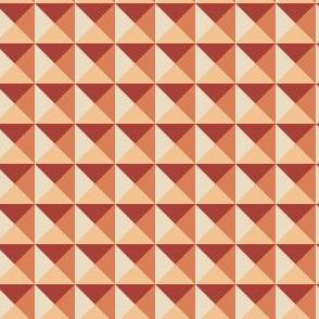 Geometric Pattern: Pyramid: Autumn