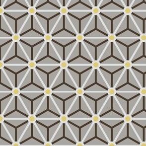 Geometric Pattern: Star Circle: Ceylon