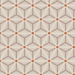 Geometric Pattern: Star Circle: Rugby