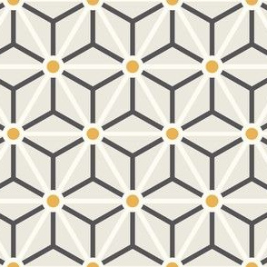 Geometric Pattern: Star Circle: Carnival