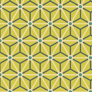 Geometric Pattern: Star Circle: Lorikeet