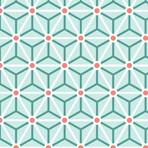 Geometric Pattern: Star Circle: Stem